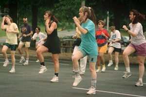 Exercices d'aérobic